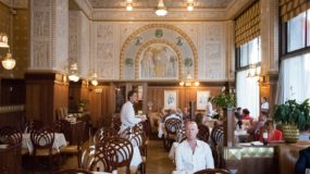 Traditional Czech Food at Cafe Imperial, Prague