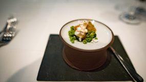 Tian, Vegetarian Restaurant in Munich - Spinach, leek, garlic
