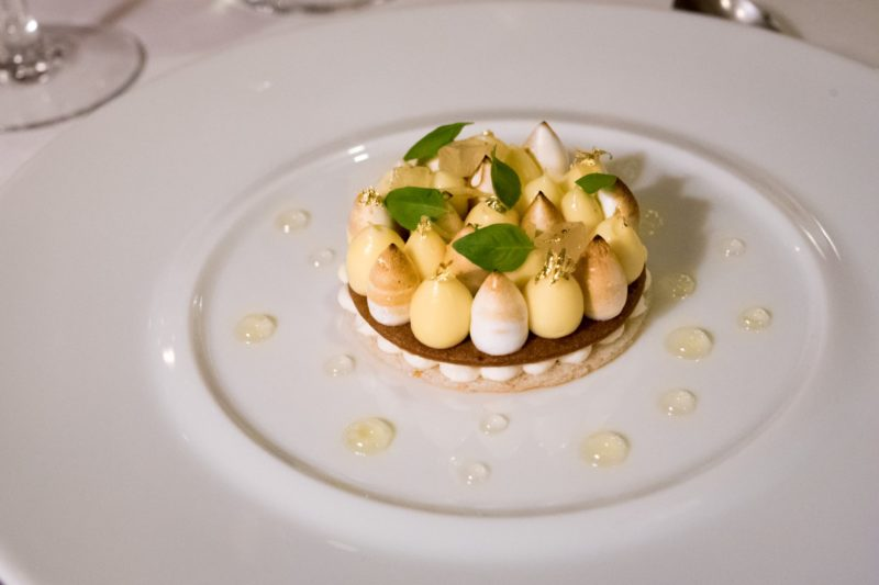 Le Restaurant de l'Hôtel, Paris – The most luxurious lemon meringue pie