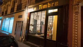 Best places to eat in Paris - Le Timbre, from the street