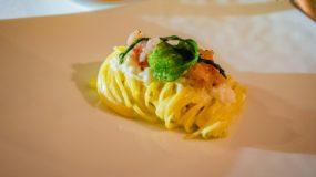Assaje Restaurant in Rome - Fresh buratta pasta