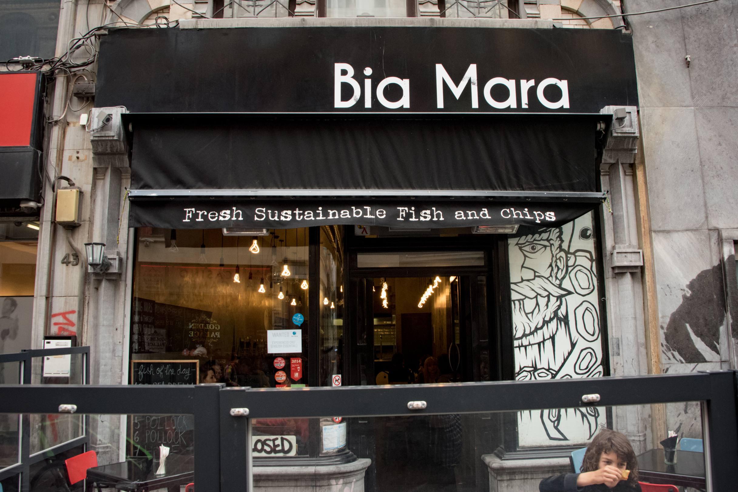 Bia Mara, Bruxelles