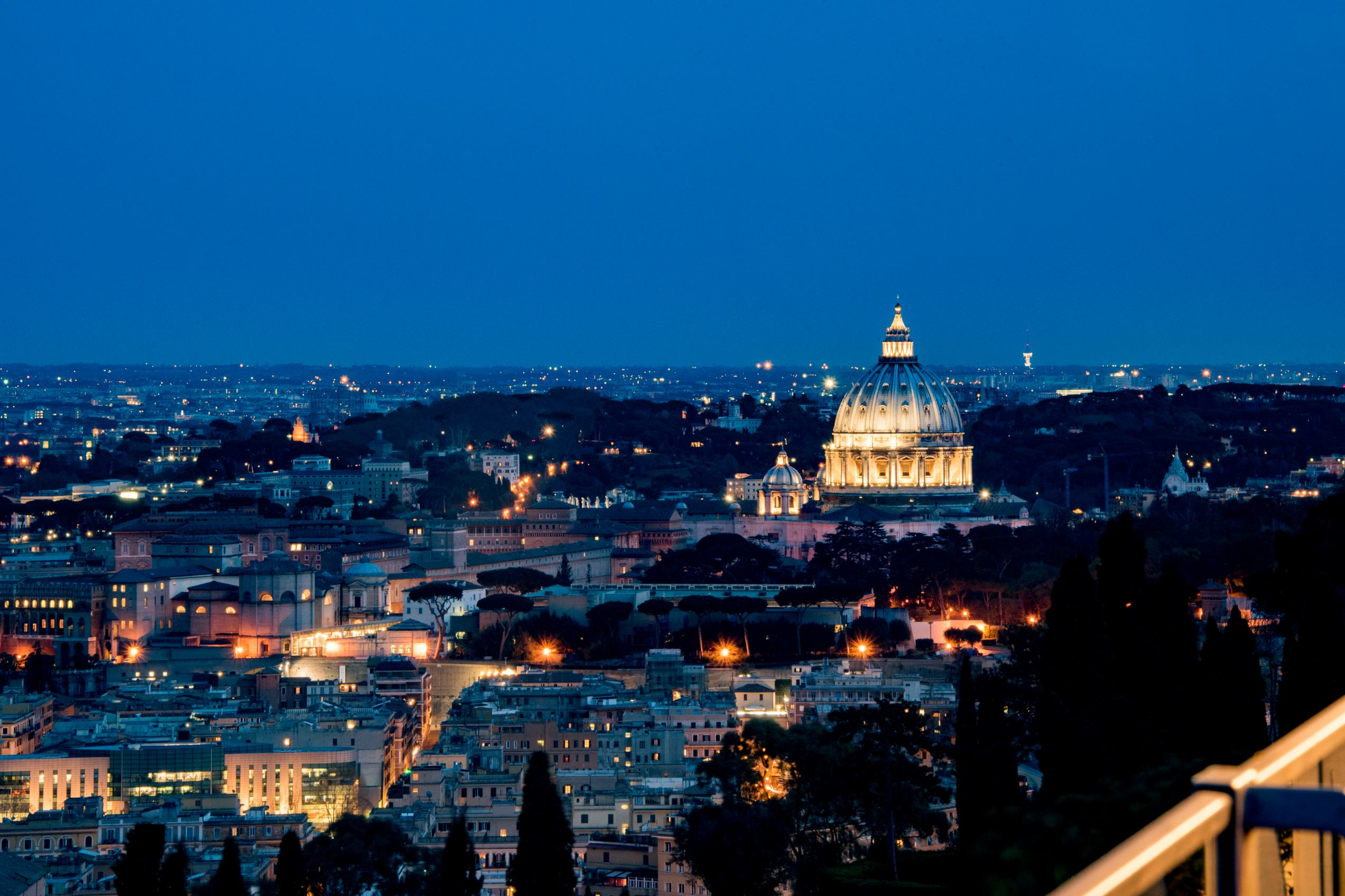 La Pergola, Rome - The view of the Vatican - Rome restaurants - Things to do in Rome