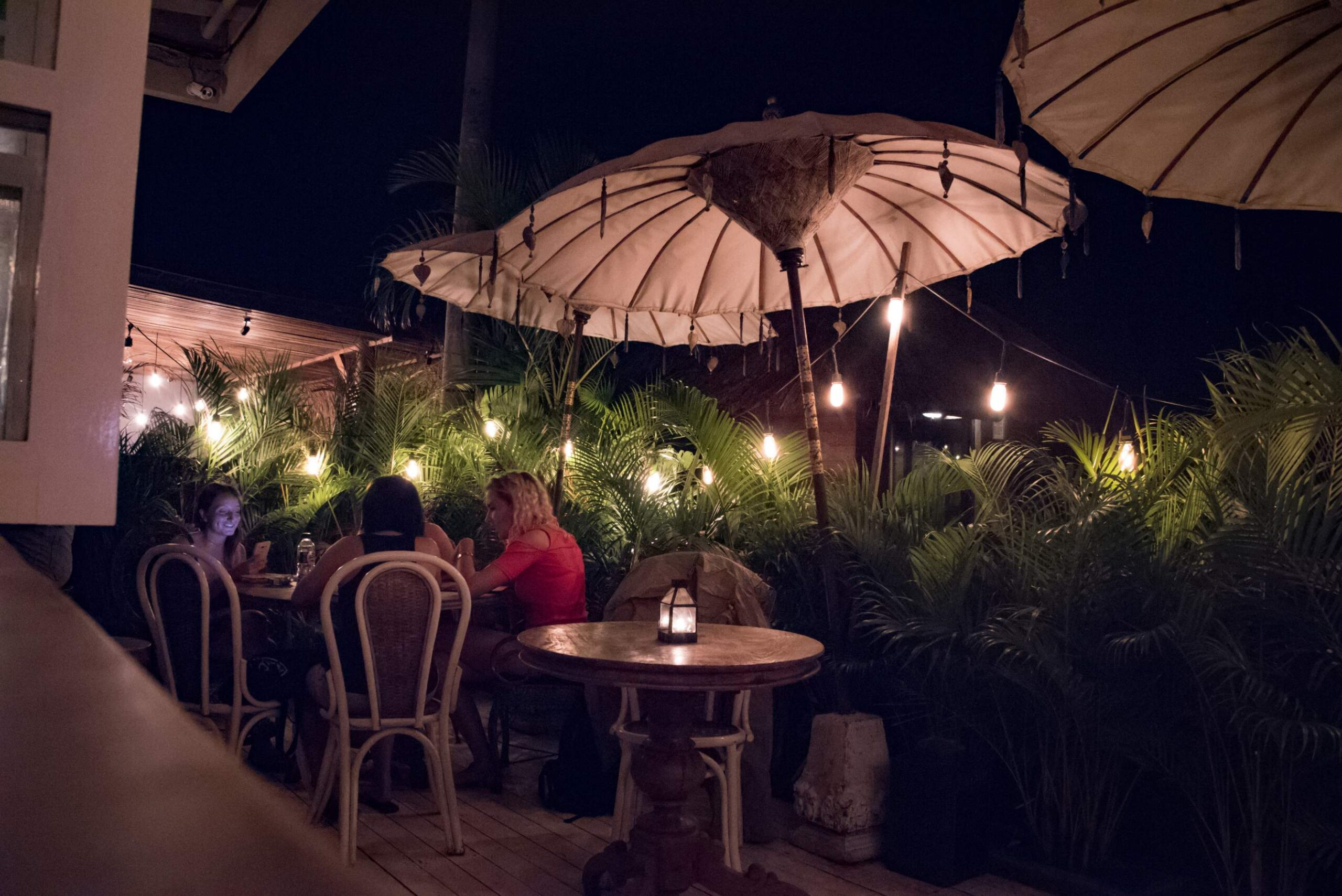 Gypsy, On Top Of All Canggu Restaurants - The Outside Patio