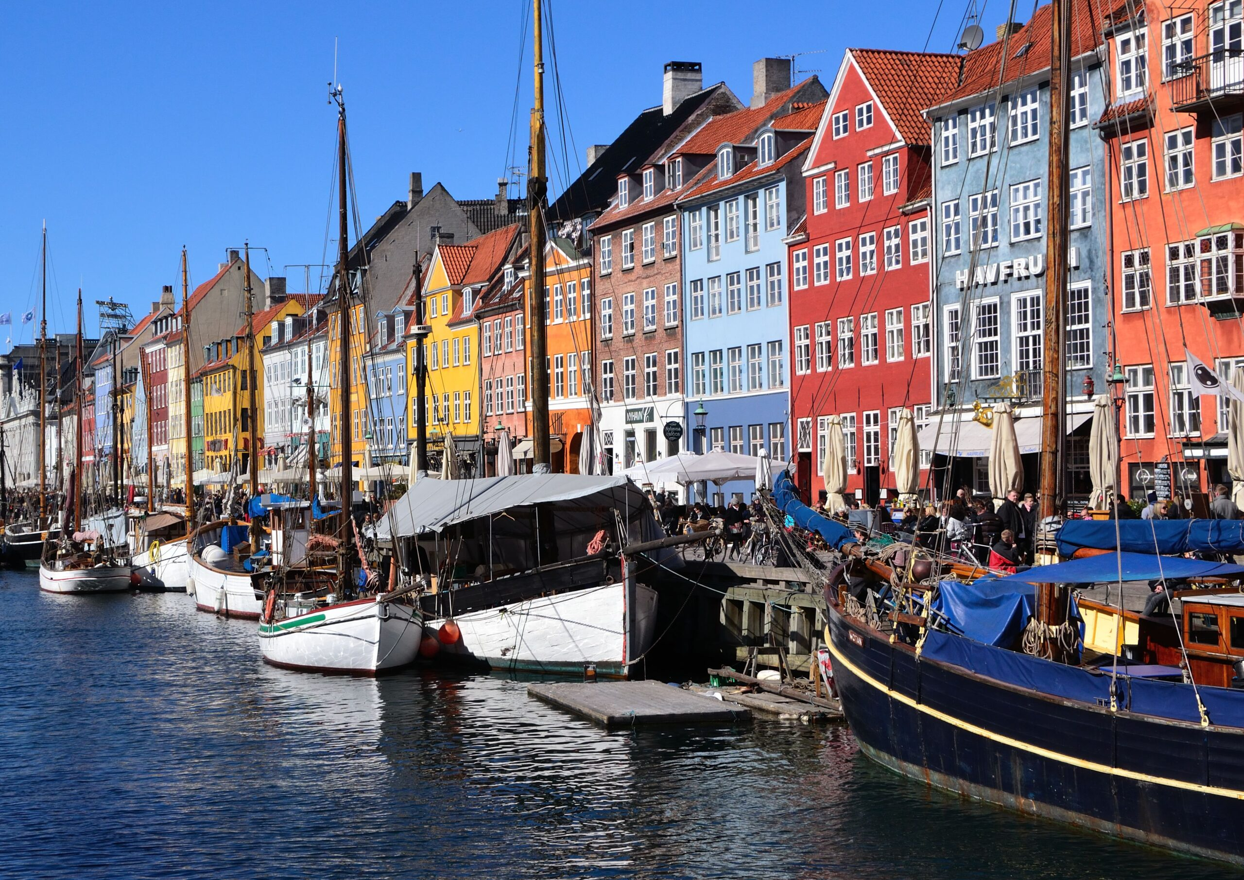 Copenhagen, Denmark famous bay