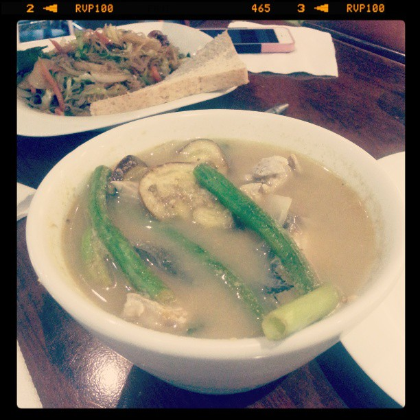 Andrew Zimmern Delicious Destinations Manila -Milkfish with sour broth and vegetables