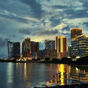 Macau Skyline - photo by Mike under CC-BY-3.0