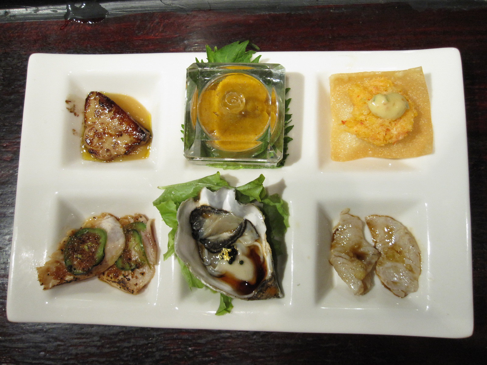 An example of a chef's tasting menu - photo by TheDeliciousLife under CC BY 2.0