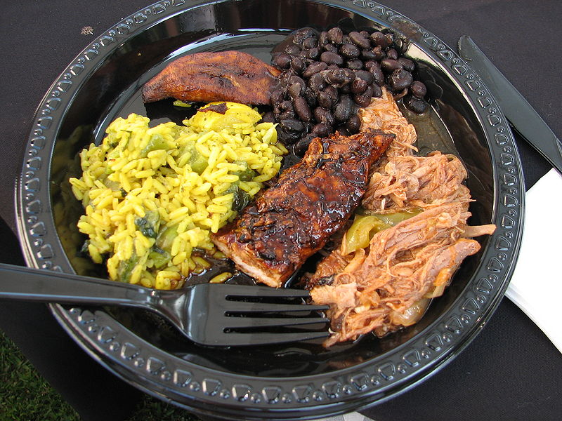 Anthony Bourdain Brooklyn - An example of Caribbean cuisine - photo by Mulling it Over by CC-BY-SA-2.0