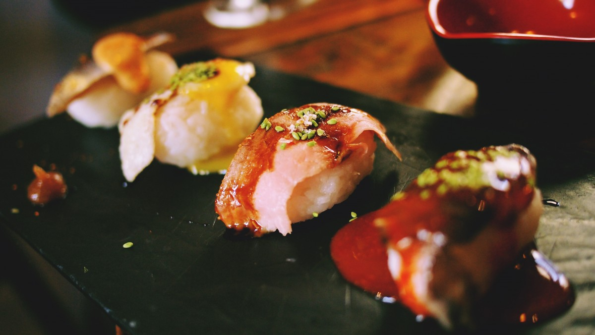 An example of French-Japanese cuisine - photo by PxHere under CC0 1.0