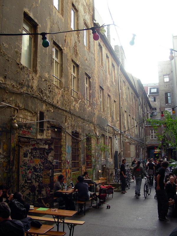 best shopping in Berlin - Haus Schwarzenberg - photo by Ioan Sameli under CC BY-SA 2.0