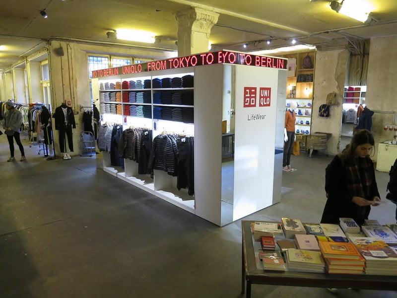 a Uniqlo pop-up shop inside Voo Store - photo by Alper Çuğun under CC BY 2.0