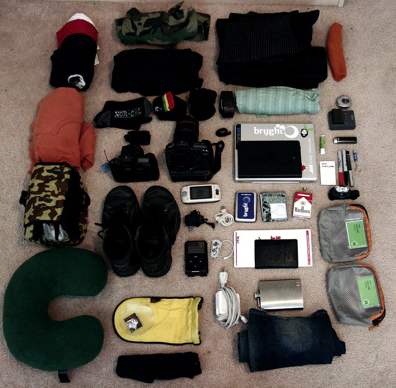 plan your carry-on packing in advance - photo by kris krüg under CC BY-SA 2.0