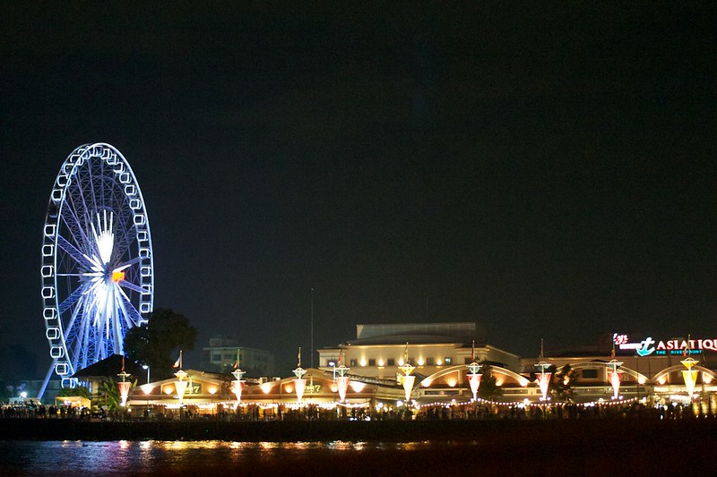 best shopping in Bangkok - ASIATIQUE: The Riverfront - photo by ecodallaluna under CC BY-SA 2.0