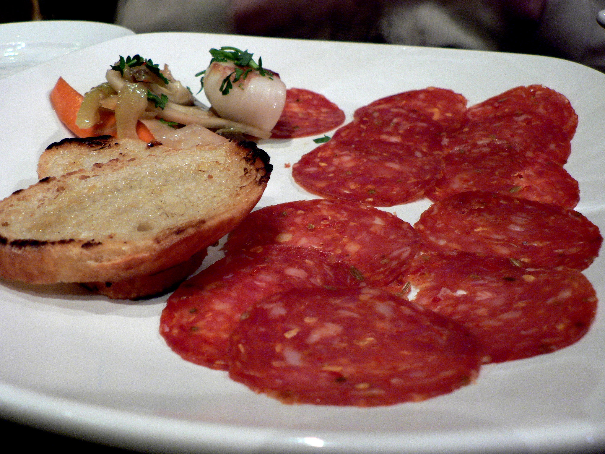 Salame Genovese - photo by stu_spivack under CC BY-SA 2.0
