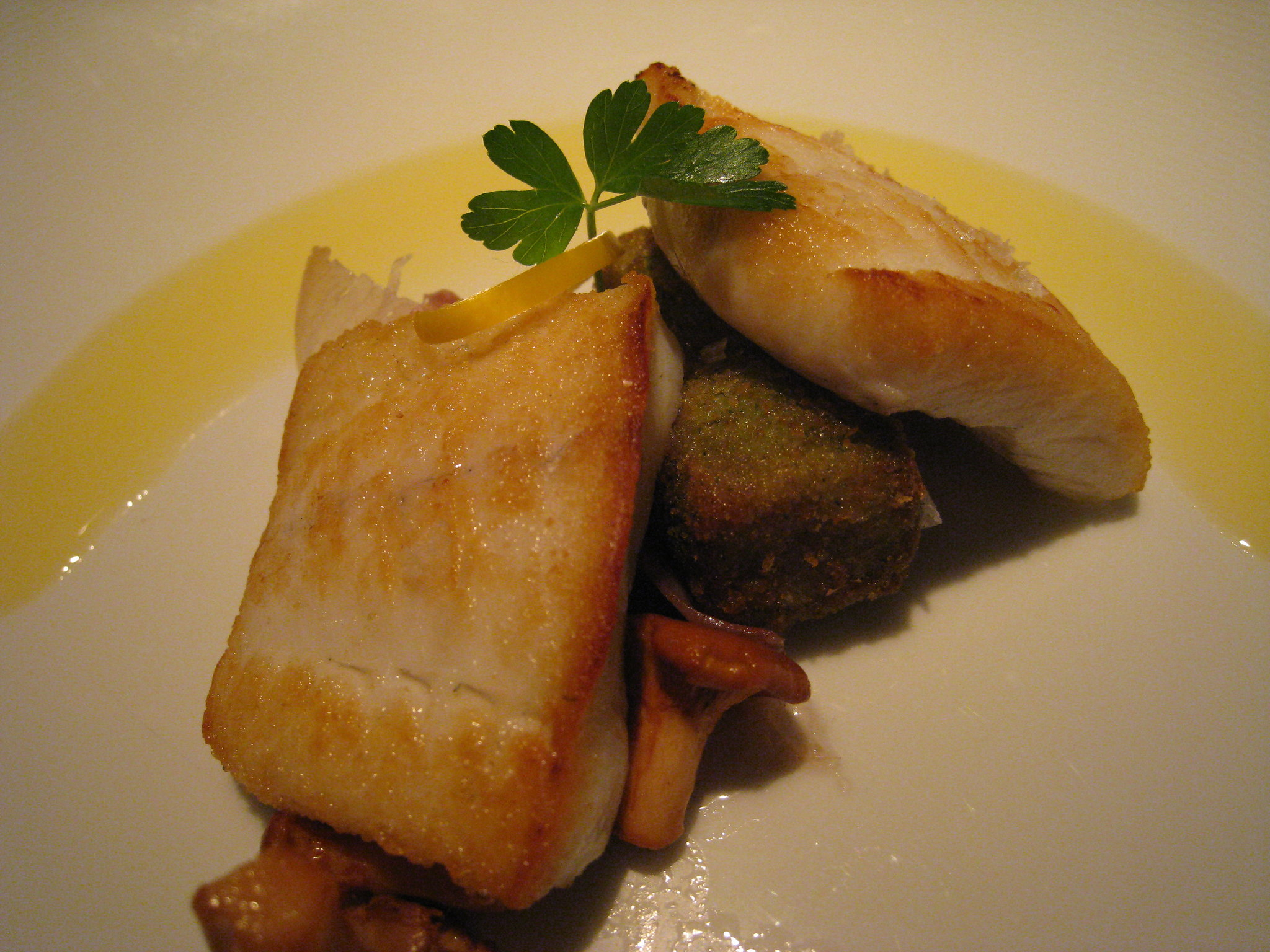 Anthony Bourdain Burgundy Roasted Turbot, Nouvelle Style - photo by cplbasilisk under CC BY 2.0