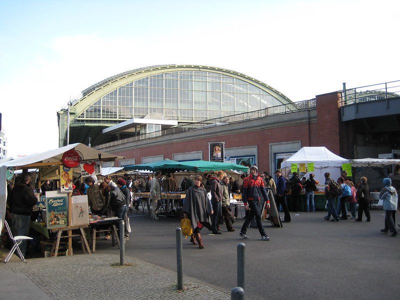 Antique Market at Ostbahnhof - photo by jwyg under CC BY-SA 2.0