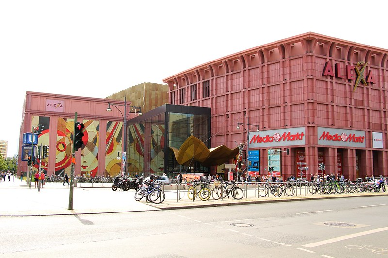 best shopping in Berlin - Alexa Shopping Centre - photo by Fred Romero under CC BY 2.0