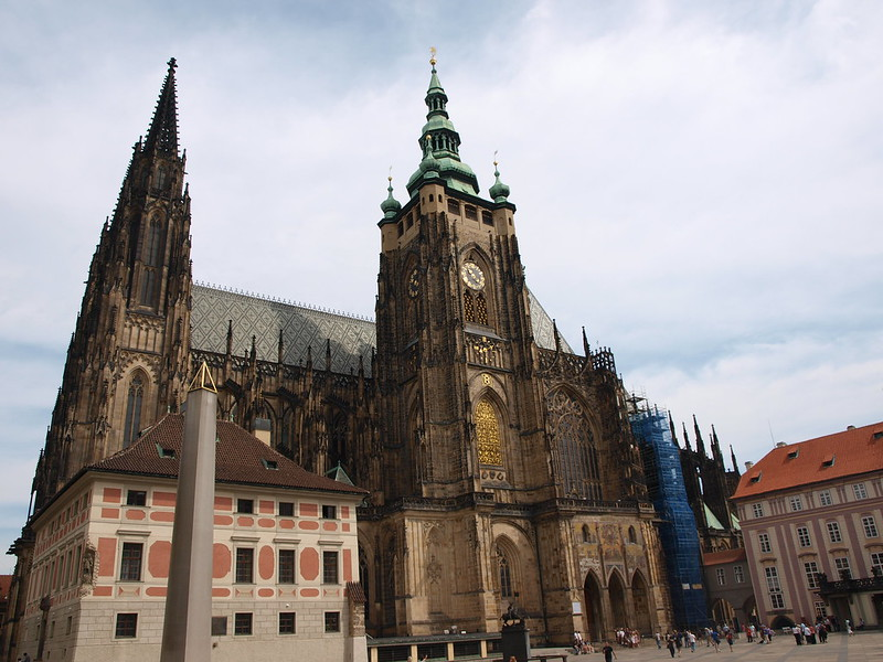 St Vitus Cathedral at Prague Castle - photo by Nigel Swales under CC BY-SA 2.0
