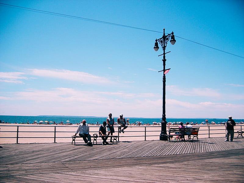 Brighton Beach in Brooklyn, NY - photo by Jeffrey Zeldman under CC BY-ND 2.0