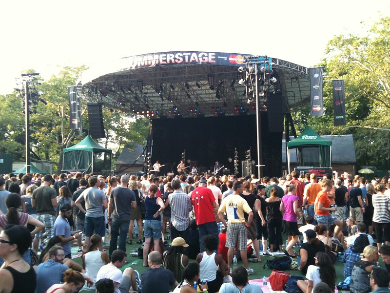 SummerStage in Central Park - photo by Michael Galpert under CC BY 2.0