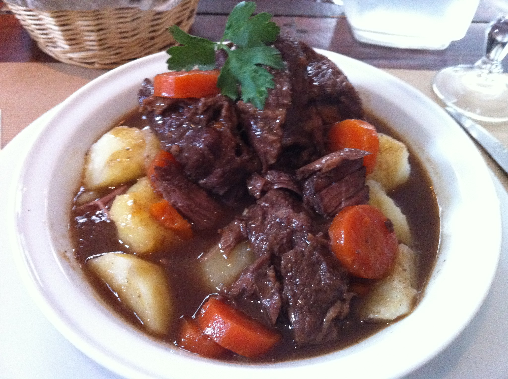 Boeuf Bourguignon - photo by Peter Robinett under CC BY 2.0