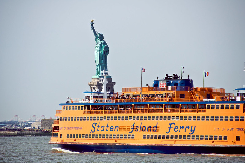 Staten Island Ferry - photo by Natalie Maguire under CC BY-SA 2.0