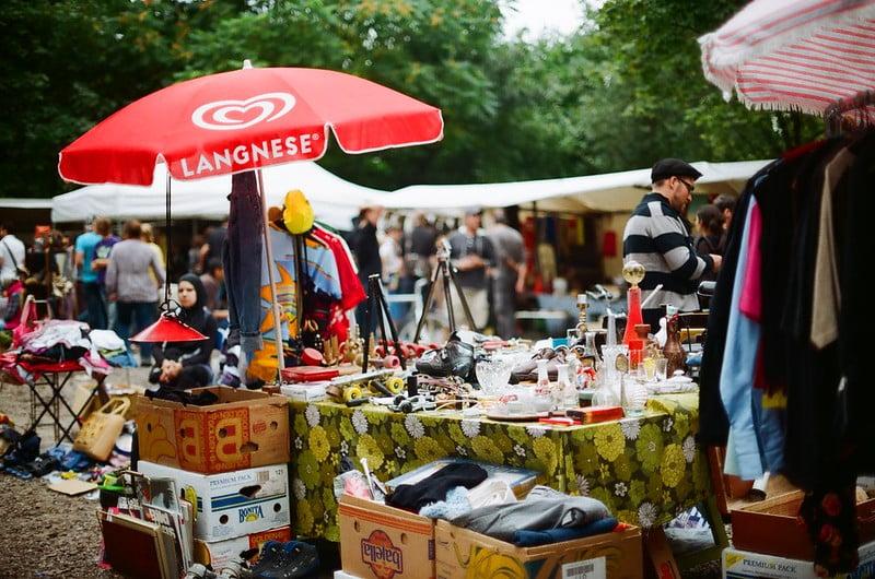 best shopping in Berlin - Fleamarket at Mauerpark - photo by tomislav medak under CC BY 2.0