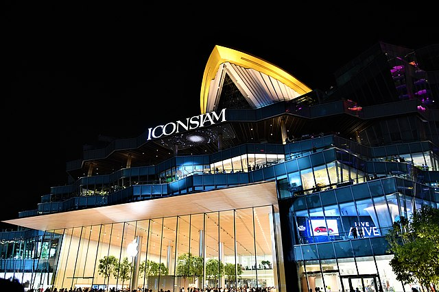 best shopping in Bangkok - ICONSIAM - photo by Tris T7 under CC-BY-4.0