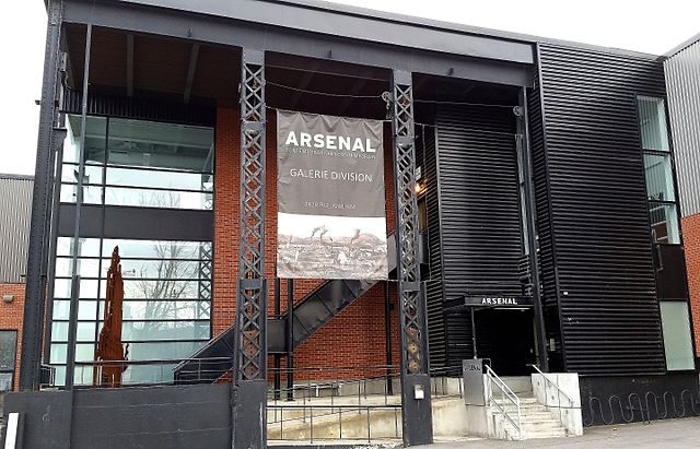 Arsenal Contemporary Art in Griffintown in Montreal, Quebec - photo by Guerinf under CC-BY-SA-4.0