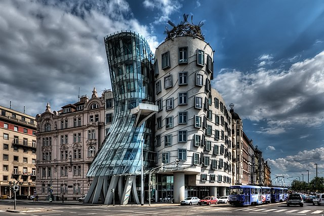 Dancing House - photo by Pedro Szekely under CC-BY-SA-2.0