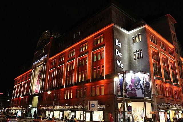 best shopping in Berlin - Kaufhaus des Westens - photo by Pixikus under Pixabay License