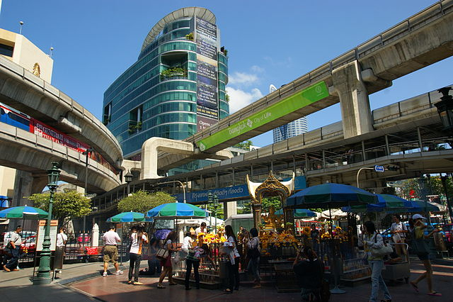 Siam Square - photo by Allie Caulfield under CC-BY-2.0