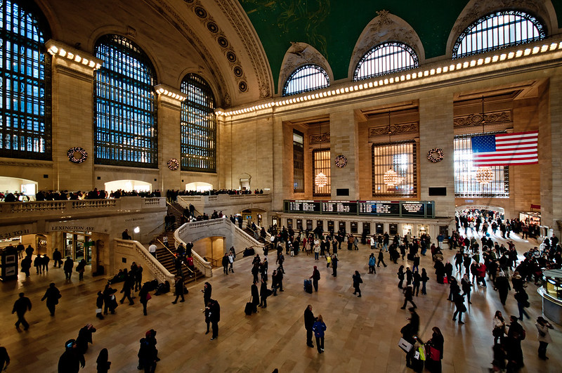 Grand Central Station in New York, NY - photo by Ray_LAC under CC BY 2.0