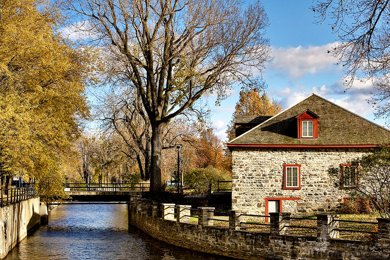 Lachine Canal in Montreal - photo by Artur Staszewski under CC BY-SA 2.0
