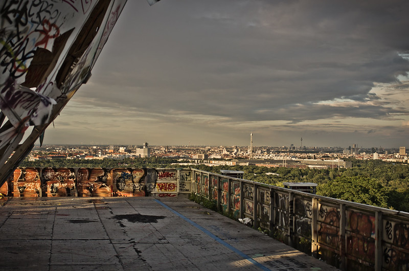 Berlin skyline from Teufelsberg - photo by Christoph under CC BY-ND 2.0