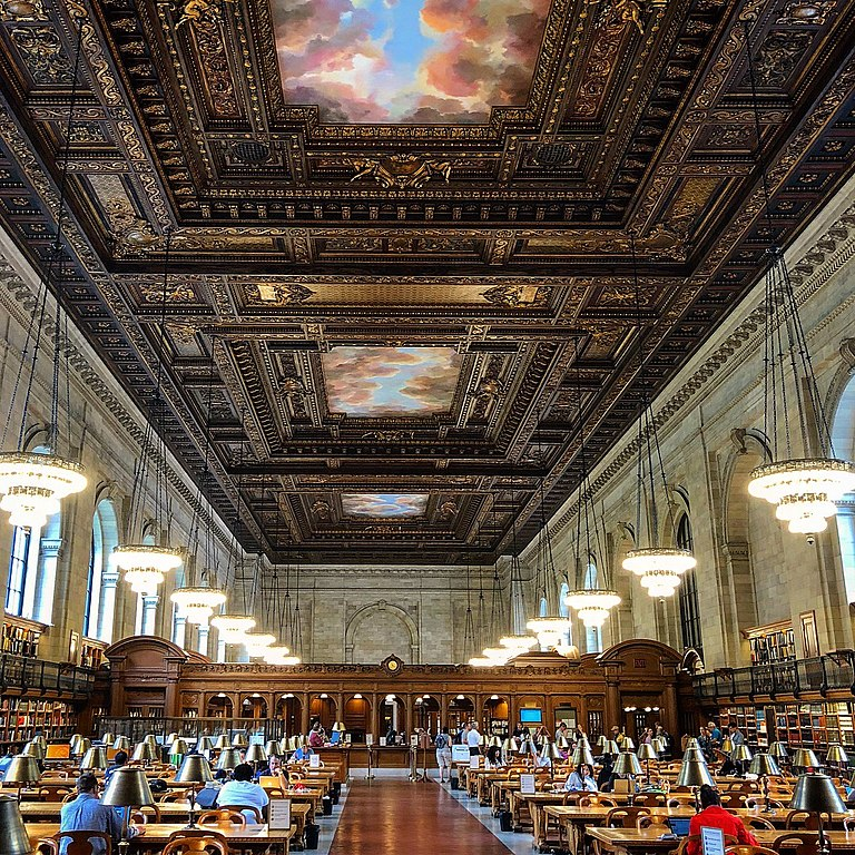 Free Things to Do in New York - The Rose Main Reading Room at the NYC Public Library - photo by Appitecture under CC-BY-SA-4.0