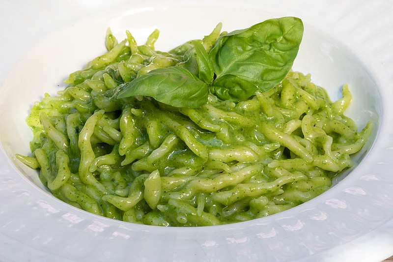 Delicious Destinations Genoa - Trofie al Pesto - photo by Pastalovers under CC BY-SA 3.0