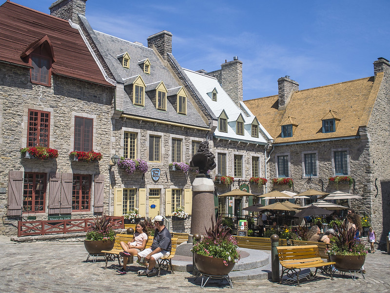 Place Royale in Quebec City - photo by Chun Yip So under CC BY 2.0