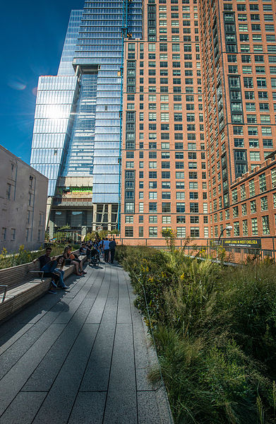 High Line Park - photo by U.S. Department of Agriculture under CC-BY-2.0