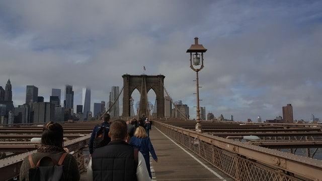 Brooklyn Bridge walkway - photo by Pexels under CC0