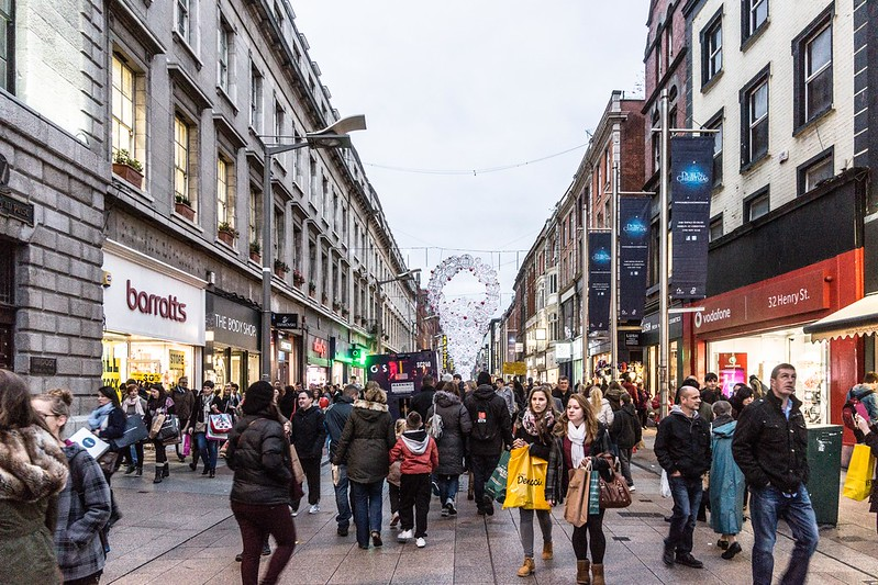Henry Street in Dublin - photo by William Murphy under CC BY-SA 2.0