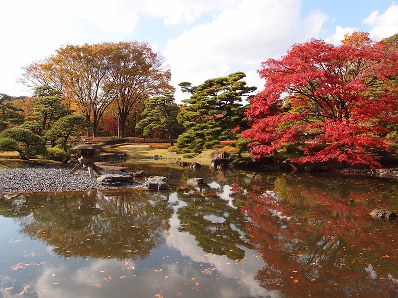 historical sites in Tokyo - Imperial Palace East Garden - photo by Guilhem Vellut under CC BY 2.0