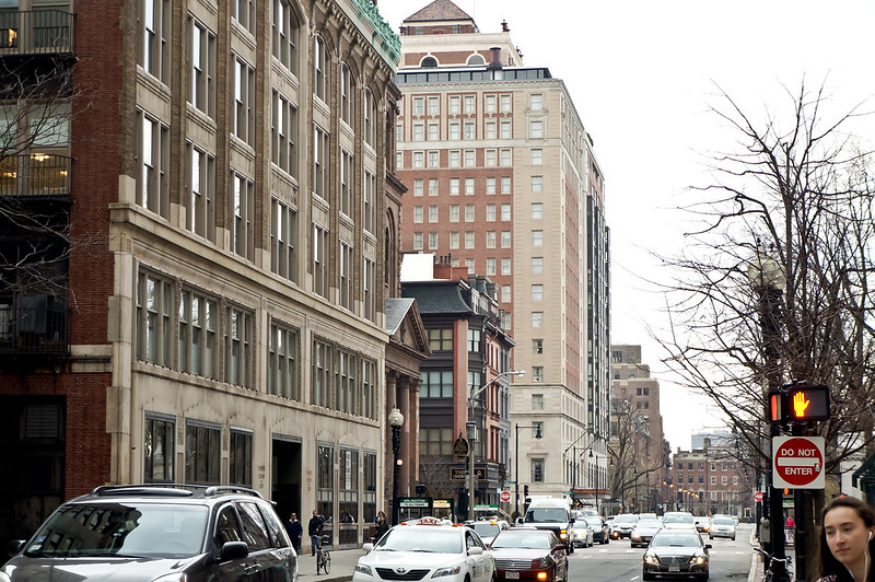 Boylston Street - photo by uniquelycat (Cathy) Smith under CC BY 2.0
