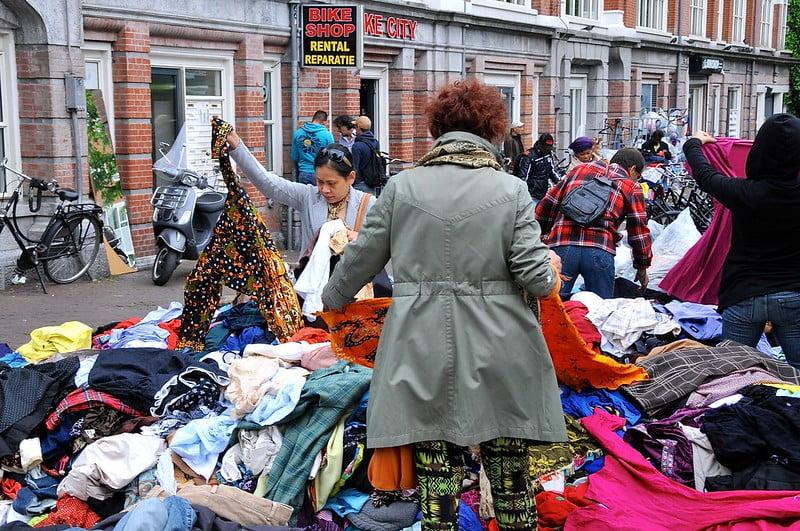 Waterlooplein Market - photo by FaceMePLS under CC BY 2.0