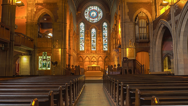 inside Govan Old Parish Church - photo by John under CC BY-SA 2.0