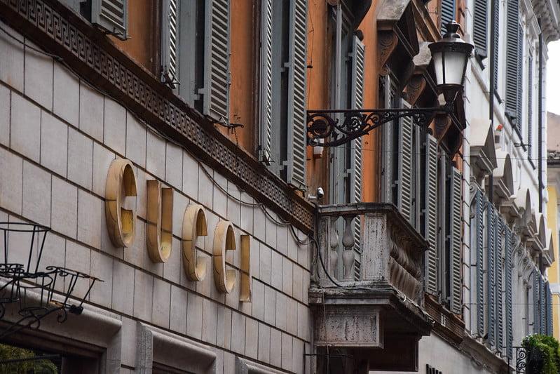 best shopping in Rome - Via Condotti, Rome, Italy - photo by Maria Eklind under CC BY-SA 2.0