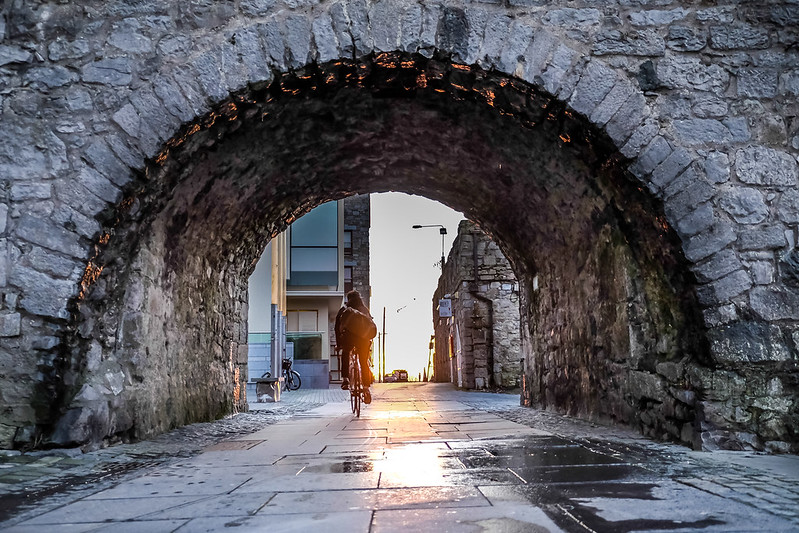 Spanish Arch at the City Center, Galway, Ireland - photo by Bro. Jeffrey Pioquinto, SJ under CC BY 2.0