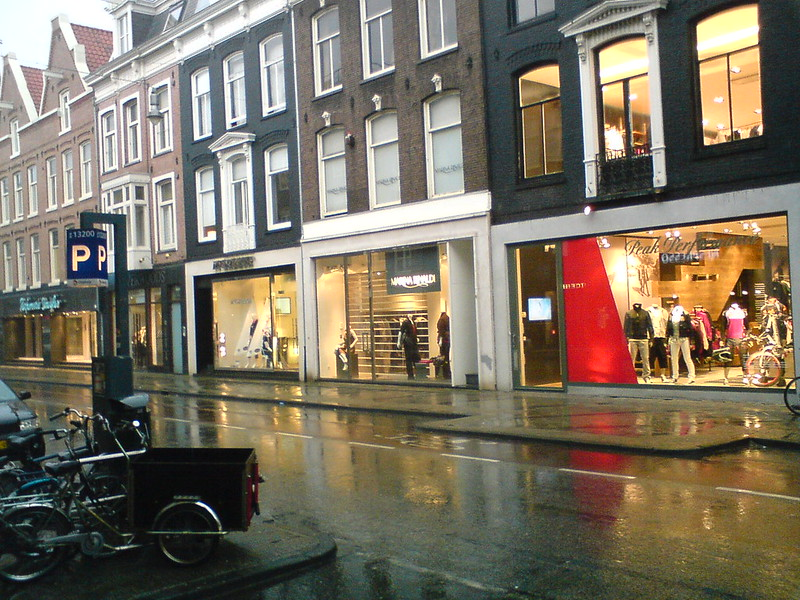 Some of the shops on P.C. Hooftstraat - photo by robin bos under CC BY 2.0