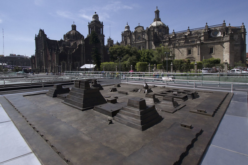Templo Mayor - photo by Milton Martínez / Secretaría de Cultura CDMX under CC BY-SA 2.0